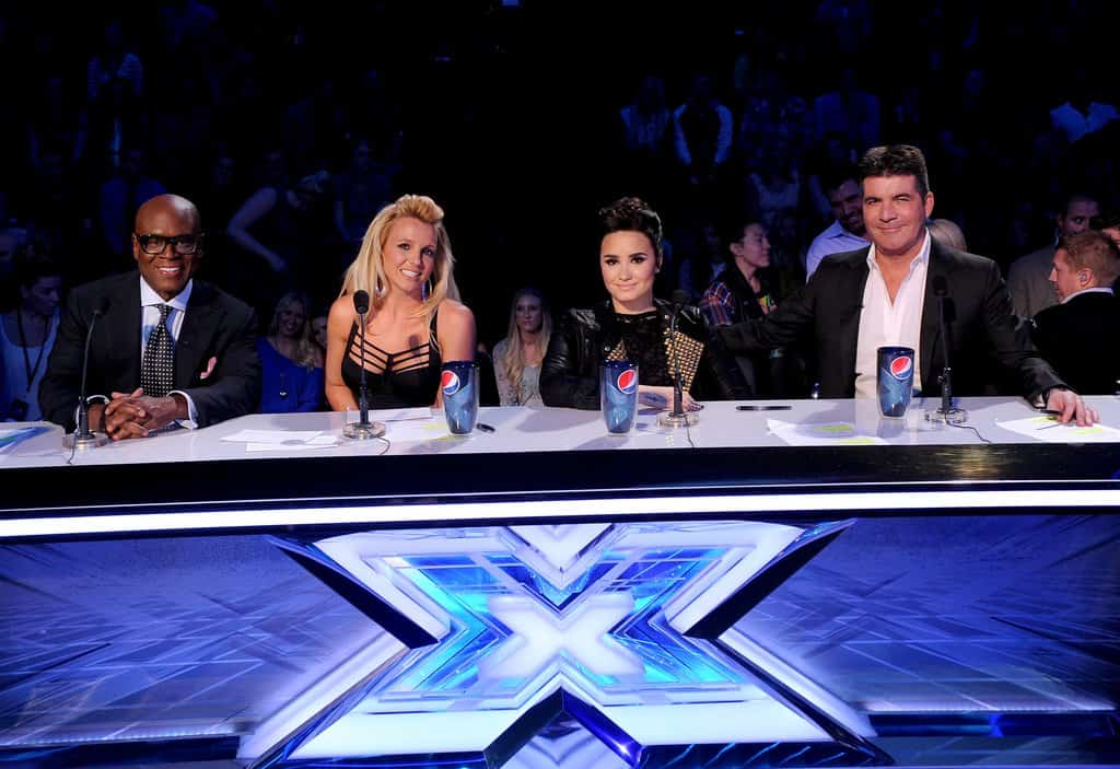 britney spears the xfactor 2012