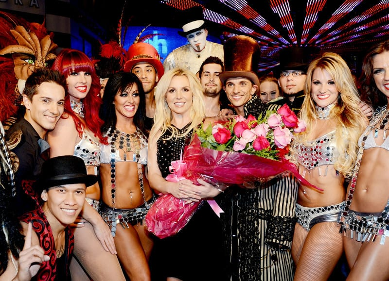 britney spears tour 2013 las vegas