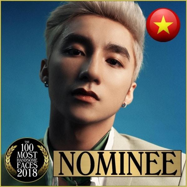 Hot: Sơn Tùng M-TP lọt top 100 gương mặt đẹp nhất thế giới 2018