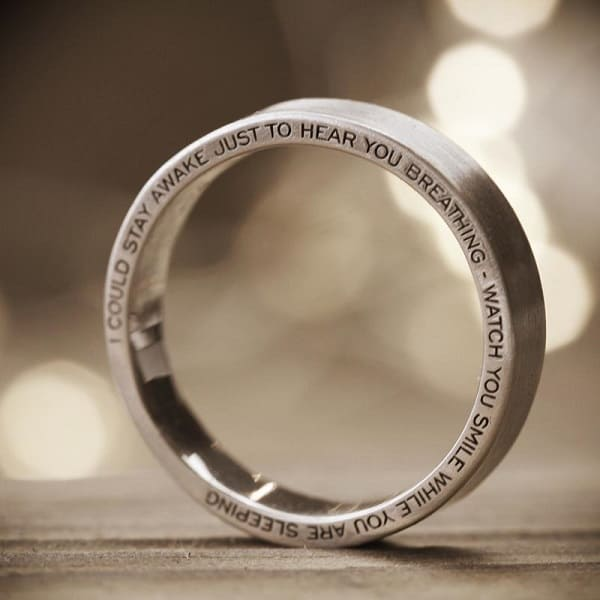 Có thể bạn chưa biết về ý nghĩa tâm linh của việc khắc tên lên nhẫn